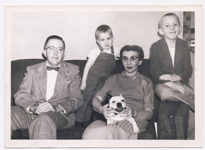 1950sFamily plus Buster Circa early