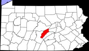 Mifflin_County_PA_Map