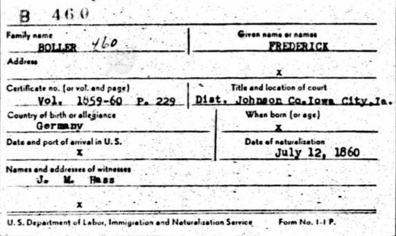 1860frederickbollernaturalization