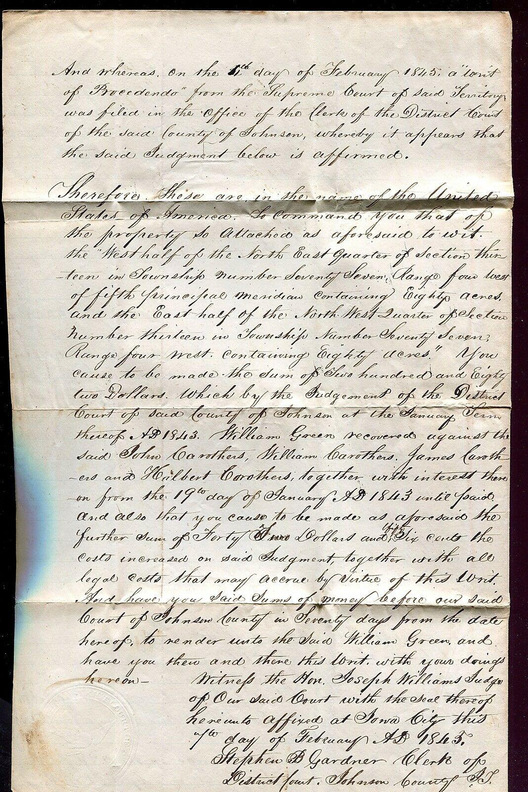 1845letterd