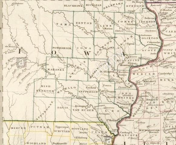 1846 iowa map 2