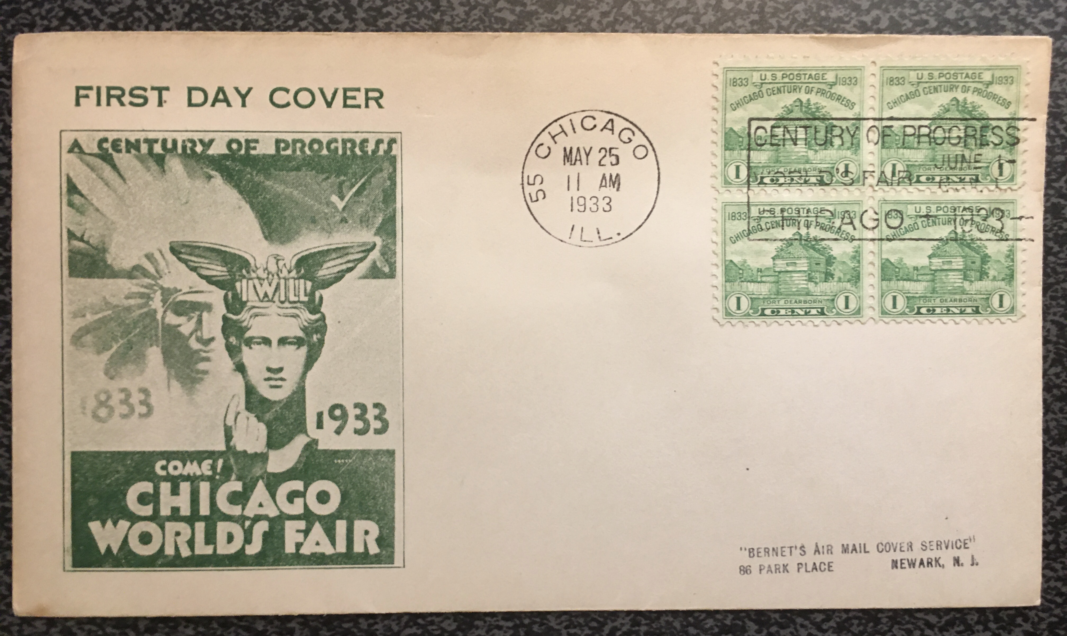 728-1933FDC