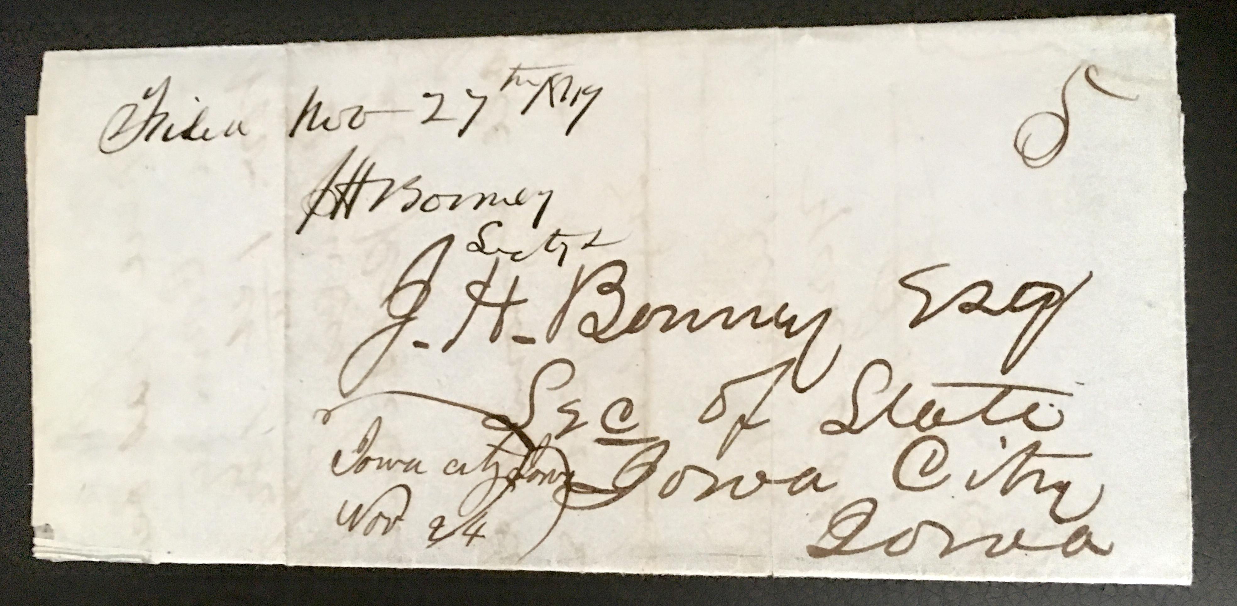 1849 BonneyLetter