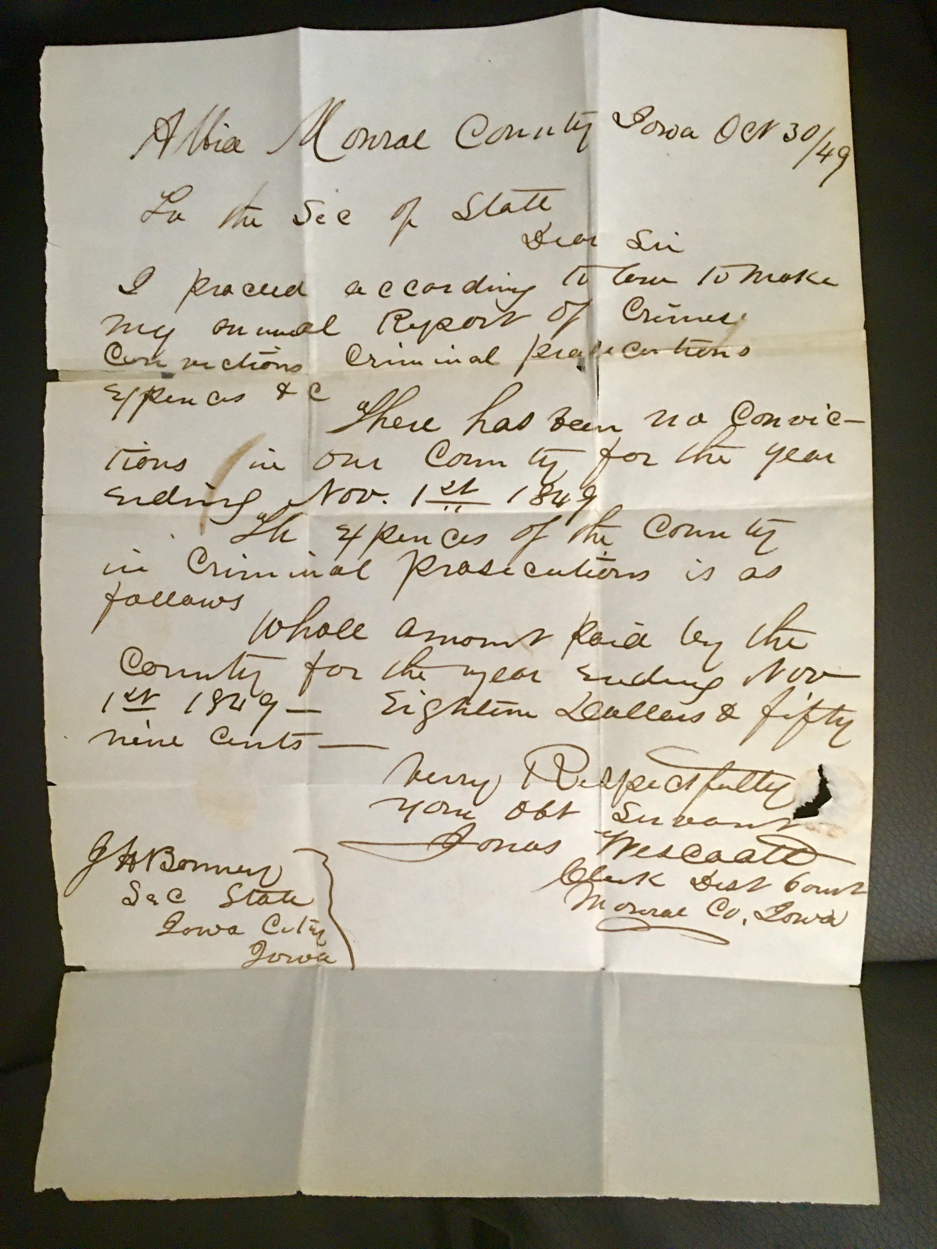 1849 BonneyLetterA