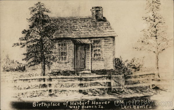 Birthplace of Herbert Hoover West Branch, IA