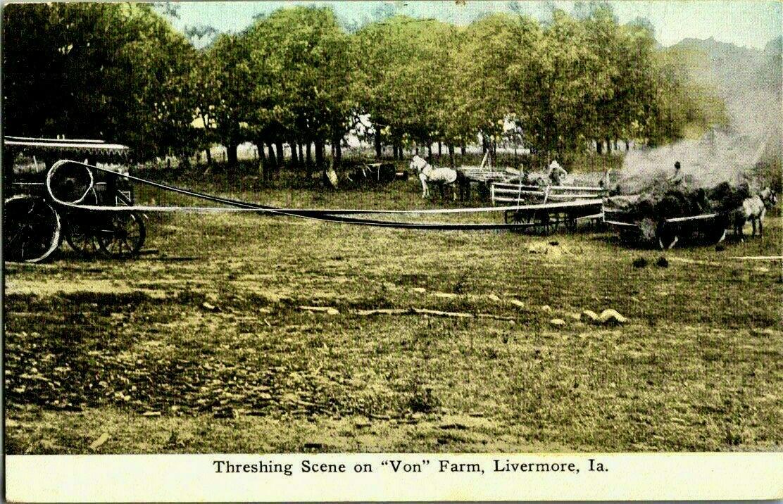 1907ThreshingSceneIowa